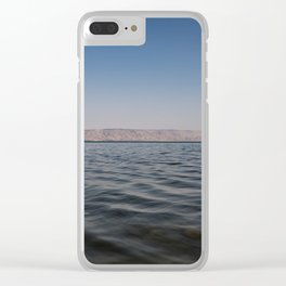 Sea of Galilee Clear iPhone Case
