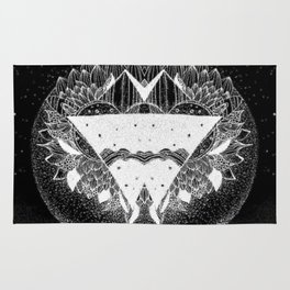 Out in the universe Rug