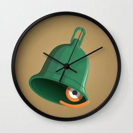 bell clapper glance Wall Clock