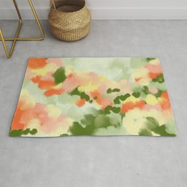 Abstract painting Summer Vibes Rug