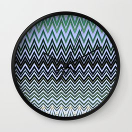 Coconut Palm Maldives Wall Clock