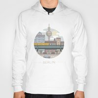 berlin Hoodies featuring Berlin by fabric8