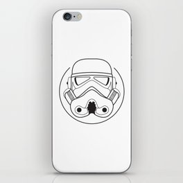 Stormtrooper from Galactic Empire. iPhone Skin