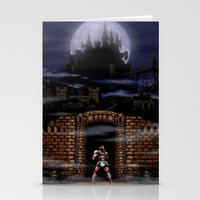 castlevania Stationery Cards featuring Trick or Treat by VGPrints