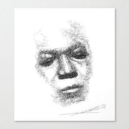 Trane - Jazz Musician Canvas Print