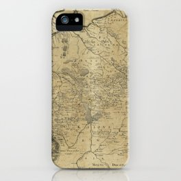 Map of Ukraine (1648) iPhone Case