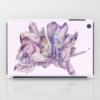 crystals iPad Cases featuring Crystals by my first palette