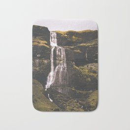 Waterfall Somewhere in Southern Iceland. Bath Mat