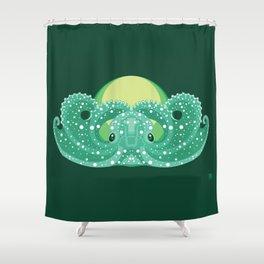 Sea Lord (Green) Shower Curtain