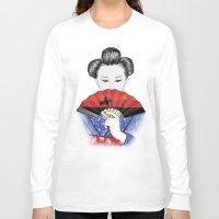 western Long Sleeve T-shirts featuring Western Innocence by Yuri Lobo
