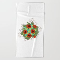 Bouquet #4 Beach Towel