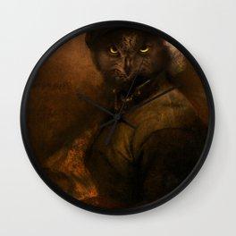 Rembrandt Owl Wall Clock