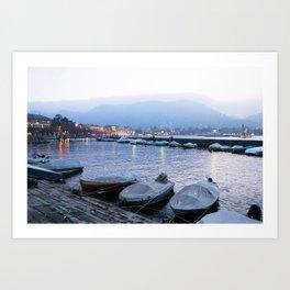 Lago di Como Art Print