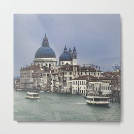 Venice Cityscape Grand Canal, Italy Metal Print