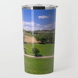Green Fields of Abruzzo Travel Mug