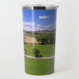 Green Fields of Abruzzo Travel Mug