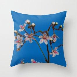 London Pride Flowers Throw Pillow