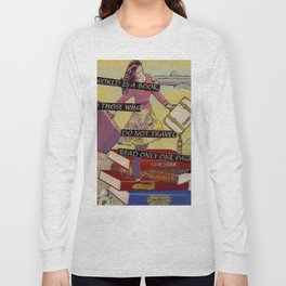 Travel The World Through Books Long Sleeve T-shirt