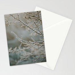Frosty Thorns Stationery Cards