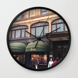 City shopping Wall Clock