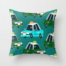 Lantau Taxi Throw Pillow