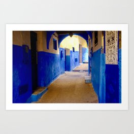 Tangier Morocco Medina Art Print