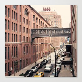 NYC From the High Line Canvas Print