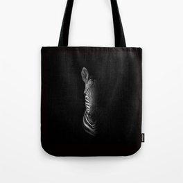 Cape Mountain Zebra Portrait Tote Bag