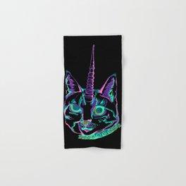 Punk Caticorn Hand & Bath Towel