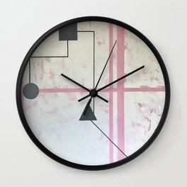 Sum Shape Wall Clock