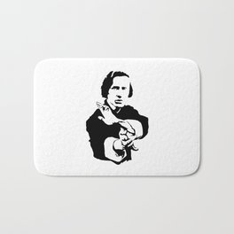 Chopin Fighter Bath Mat