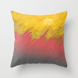 Final in fire Throw Pillow