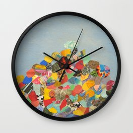 Rock Shrine Wall Clock