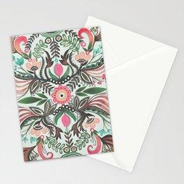 Folk Jungle Florals by Lori Perez Stationery Cards