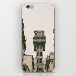 Santa Justa Elevator iPhone Skin