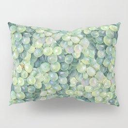 Green Grape Pattern Pillow Sham