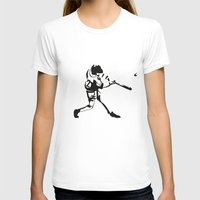 baseball T-shirts featuring Baseball by Lukas Klepke