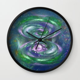 Underwater Magic Wall Clock