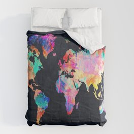World map Comforters