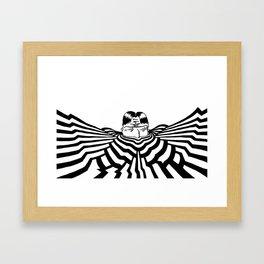Ripplescape #2 Framed Art Print