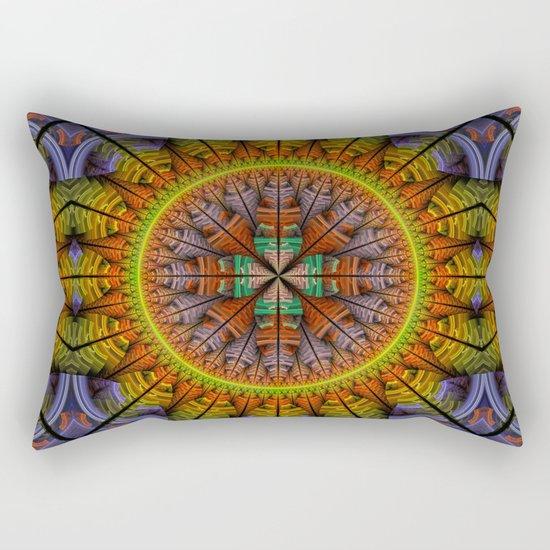 Groovy tribal pattern star Rectangular Pillow