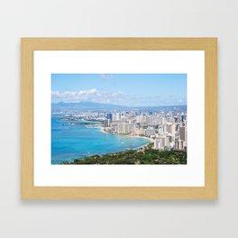 Beachfront Dreams Framed Art Print