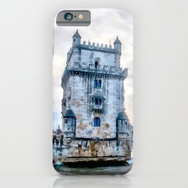 Belém Tower, Lisbon (Portugal) iPhone Case