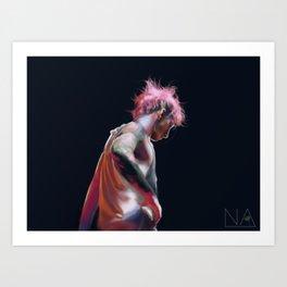 josh colours print Art Print