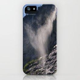 The Ghost. Lauterbrunnen Waterfalls. Alps. Switzerland iPhone Case
