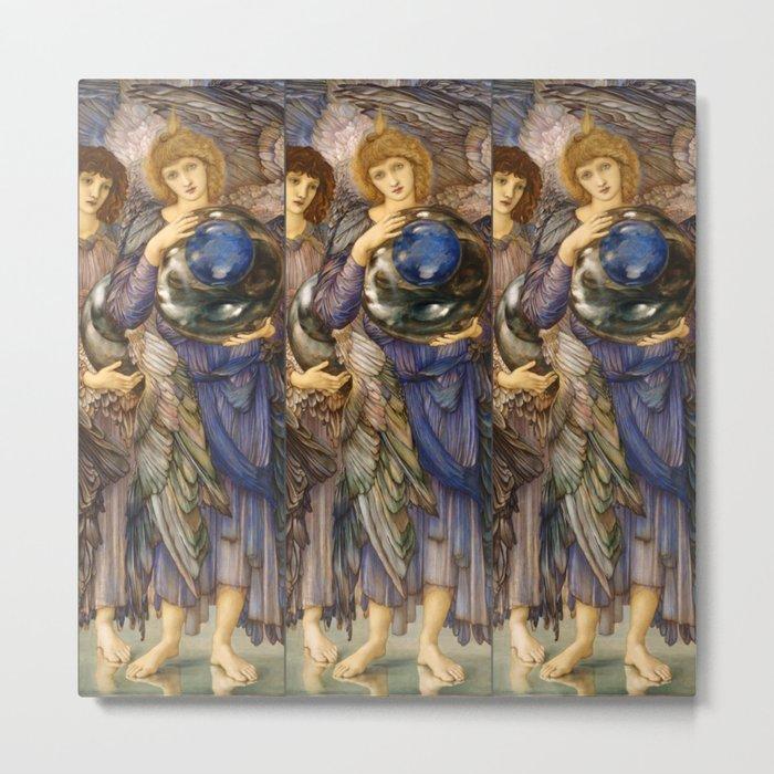 "Edward Burne-Jones ""The Days of Creation - Day 2"" Metal Print"