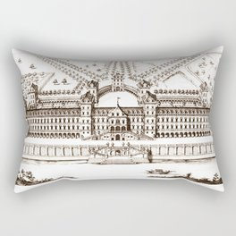 Castle old vintage Rectangular Pillow