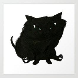 Katie's Cat Art Print