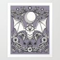 A Bat's Favorite Things by sewzinski