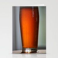 beer Stationery Cards featuring Beer by RCKennerly Photography